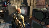 Cole ogląda transmisję Dallasa (inFamous)