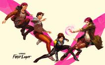 Abigail Walker evolution PS4 wallpaper