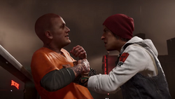 Delsin catches up to Hank
