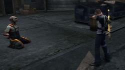Moment karmy z więźniem (inFamous 2)