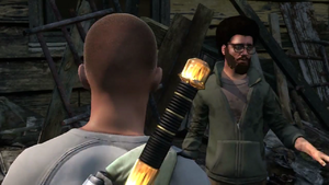 Battle by the Bay mission start in inFamous 2