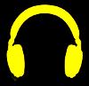 Symbol słuchawek na profil