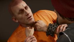 Delsin przesłuchuje Hanka (inFamous Second Son)