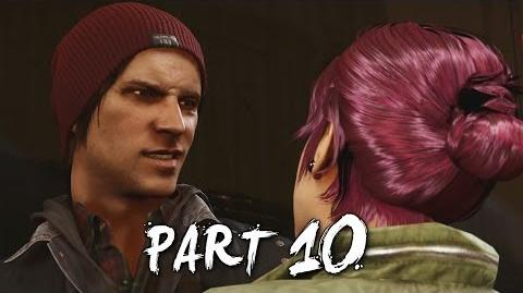 Infamous Second Son Gameplay Walkthrough Part 10 - Trash the Stash (PS4)