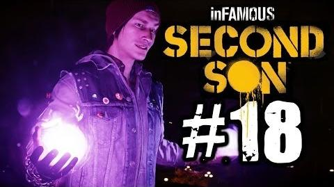 Infamous Second Son Walkthrough Part 18 - Light It Up PS4 Gameplay