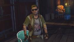 Zeke śmieje się z relacji Nix (inFamous 2)