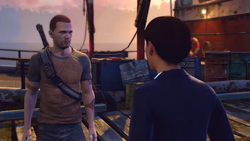 Kuo scolds Cole for his actions in inFamous 2