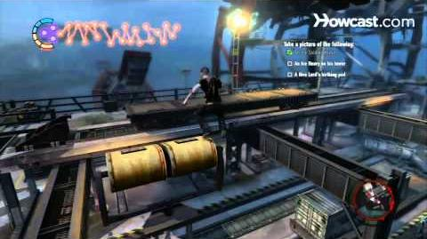 InFamous 2 Walkthrough Side Missions Part 50 Action Shots