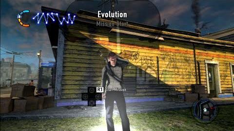 "InFamous 2 mission ""Evolution"" (Good Karma)"