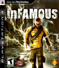 InFamous PS3 Cover
