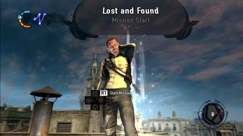 """InFamous 2 mission """"Lost and Found"""" (Good Karma)"""