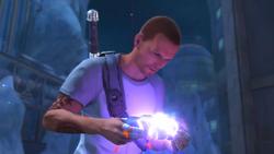 Cole zdobywa ostatni rdzeń wybuchu (inFamous 2)