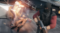 Delsin subdues dealer with smoke