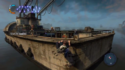Cole reaches second boat during New Marais Tea Party side mission