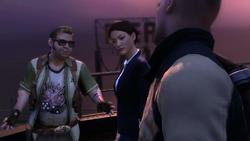 Zeke, Kuo i Cole na łodzi (inFamous 2)