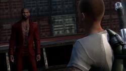 Cole spotyka Johna na łodzi (inFamous 2)