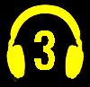 Symbol słuchawek na profil 3