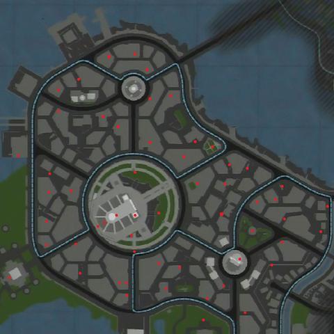 Mapa urn w Ville Cochon.