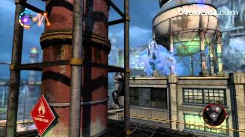 InFamous 2 Walkthrough Side Missions Part 63 The Harder They Fall