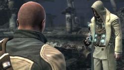 Cole spotyka Kesslera w strefie zero (inFamous)