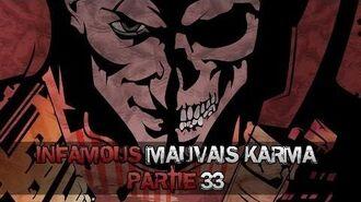 InFAMOUS Mauvais karma - Partie 33 C'est fini