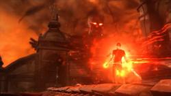 Bestia przekazuje Cole'owi moce (inFamous 2)