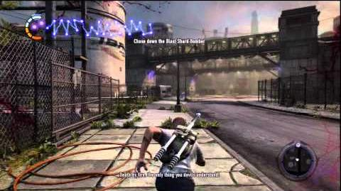 InFamous 2 Gas District - The Gauntlet