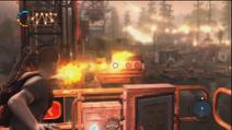Cole przeładowuje generator (inFamous 2)