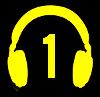 Symbol słuchawek na profil 1