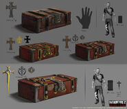 InFAMOUS FOB concept art The chest of Ignatius