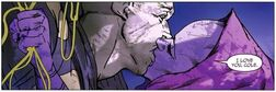 Sasha embrasse Cole