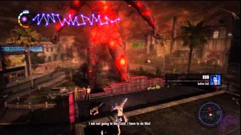 InFamous 2 Hero - Final Battle