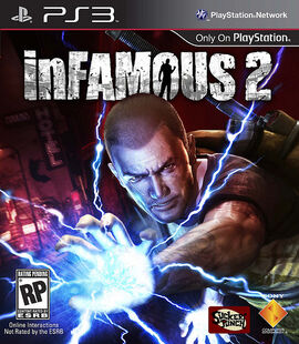 InFamous2-Carátula