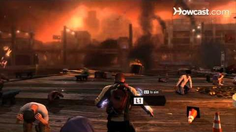 InFamous 2 Walkthrough Part 1 Introduction - Leaving Empire City