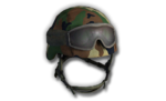 M9 Helmet Forest Goggles