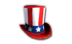 Uncle Sam's Hat Red