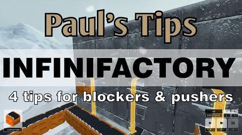 Paul's Tips - INFINIFACTORY