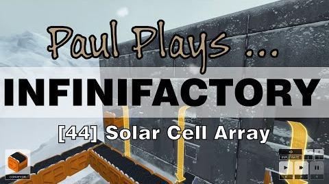 INFINIFACTORY - 44 - Solar Cell Array