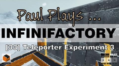 INFINIFACTORY - 33 - Teleporter Experiment 3