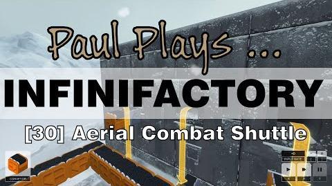 INFINIFACTORY - 30 - Aerial Combat Shuttle
