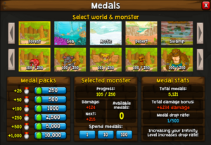 Scrn medals