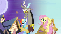 Fluttershy corrects Discord S4E01