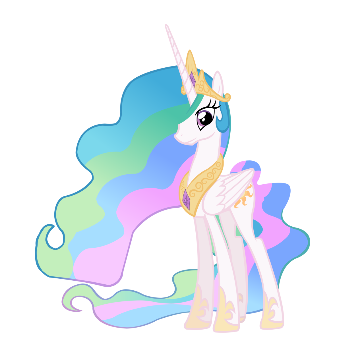 Princess Celestia My Little Pony Infinite Loops Wiki