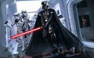Darth Vader Commanding His Forces