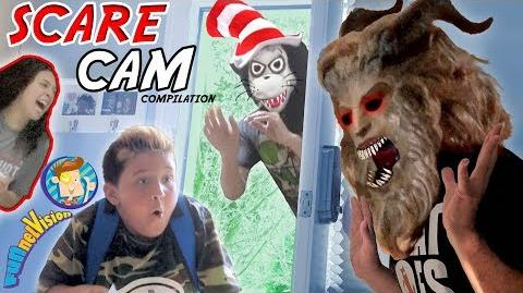 HIDE BEHIND THE DOOR Scare Cam Compilation! Beauty & the Beast Dr. Suess Bad Baby! FUNnel Vision