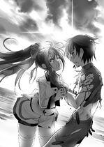 IS light novel 12 Ichika saves Houki