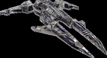 Large destroyer profile