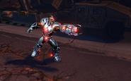 Cyborg character model 2