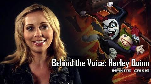 Behind the Voice Tara Strong as Harley Quinn