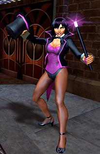Zatanna Character Model 2